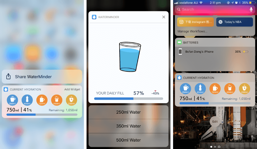 [已购]喝水提醒:WaterMinder-草蜢资源
