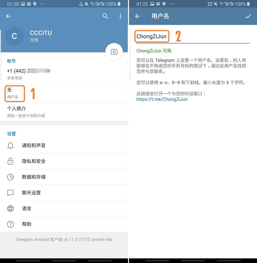 Telegram(电报)的使用方法和中文语言设置-草蜢资源